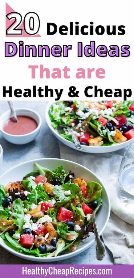 cheap healthy meals for family